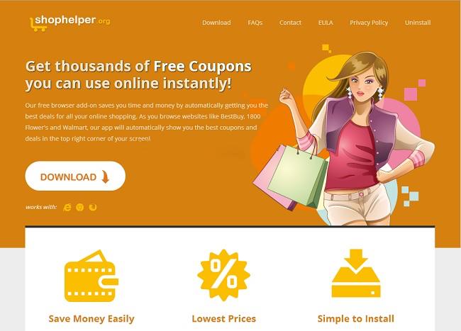 ShopHelper virus remove