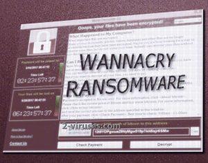WannaCryptor ransomware