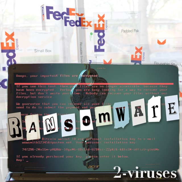NotPetya virus and FedEx
