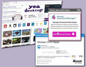 Yeadesktop.com virus