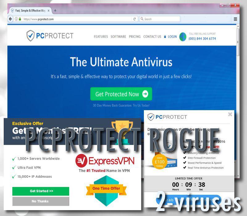 PCProtect rogue anti-malware