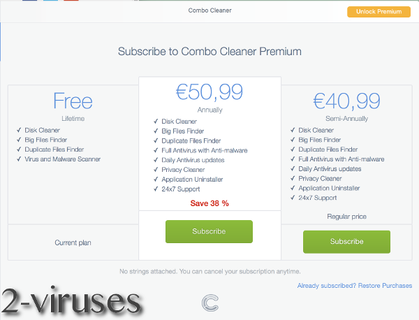 Combo cleaner price