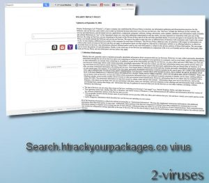 Search.htrackyourpackages.co virus