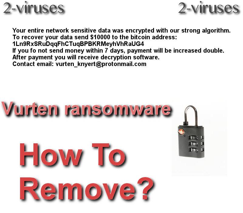 Vurten ransomware remove